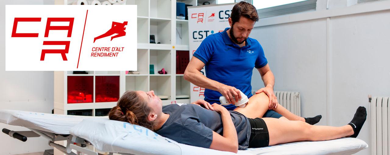 masaje deportivo con masster plus
