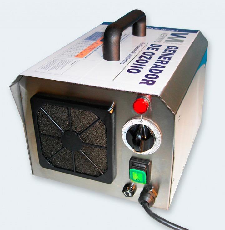 Máquina de ozono resultado profesional