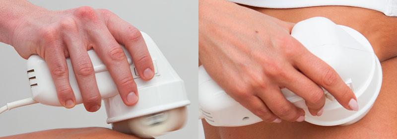 Masajeador anticelulitis con diseño ergonómico