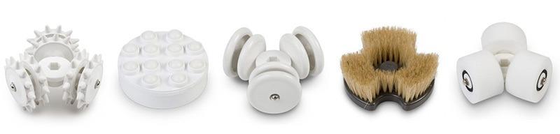 Massterplus: 5 cabezales intercambiables para hasta 40 tratamientos
